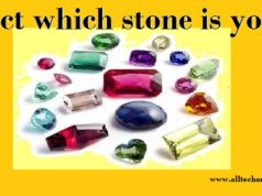 Select which stone is yours