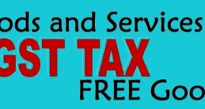 GST TAX Goods and Services FREE Goods