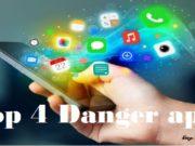 Danger apps of social media