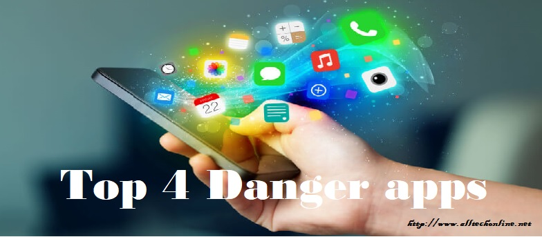 Danger apps of social media