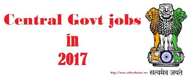 central gov jobs