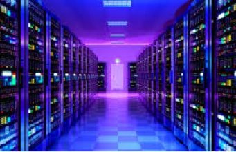 Computing Server Computer Network Concept