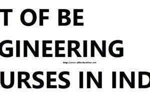 Engineering courses india