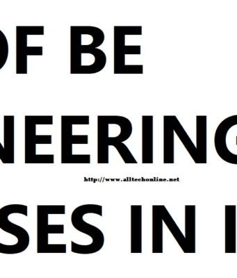 Engineering courses india