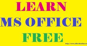 Learn Ms Office Microsoft Office