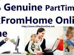 100% Genuine PartTimeJobs WorkFromHome Online Offline