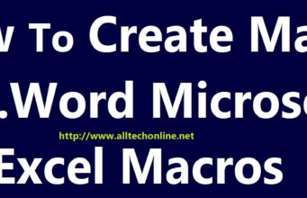Creating Macro In M.S. Word Macro Recorder