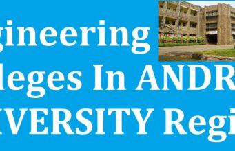 AP Engineering Colleges In AU Region