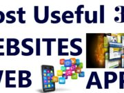 Most Useful 33 WEBSITES APPS FUTURE
