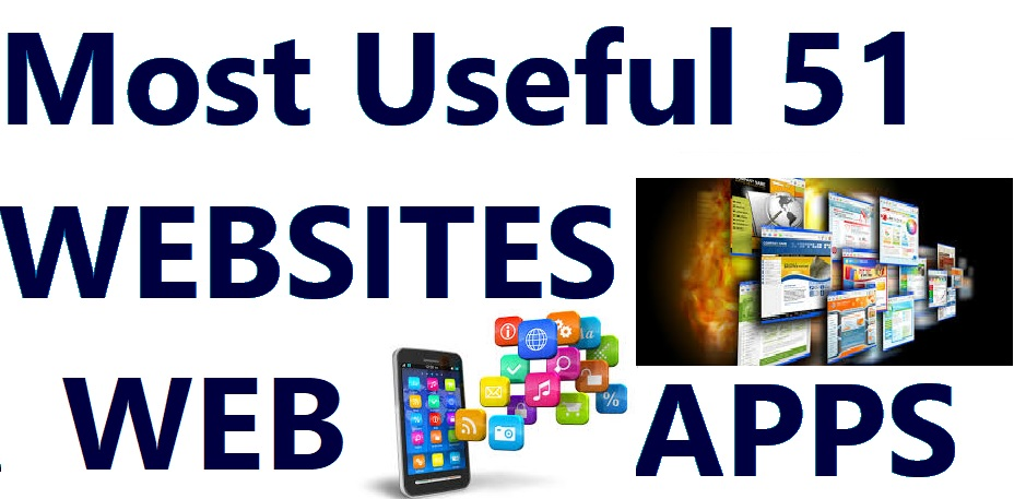 Most Useful 51 WEBSITES APPS FUTURE