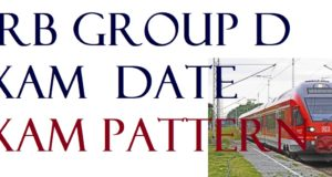 RRB GroupD Exam Date and Exam Pattern