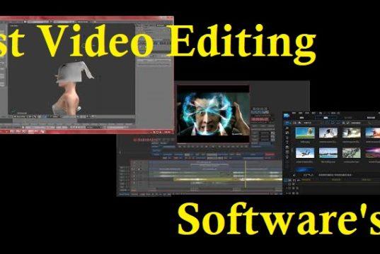 Top 6 Best Video Editing Software WINDOWS,Mac Free