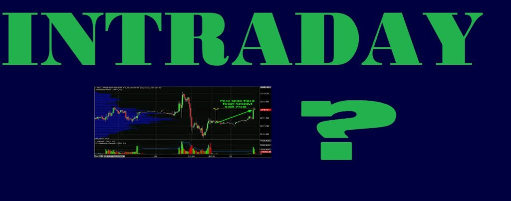 Daytrading Intraday Means What in Stock Market