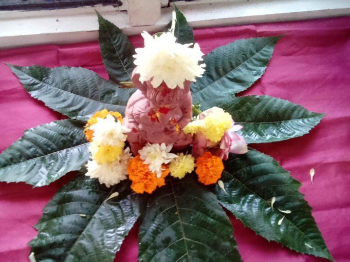 Latest Vinayaka Ganapati Chouthi Images in Telugu