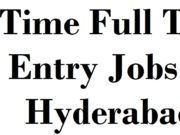 Part Time Full Time Data Entry Jobs in Hyderabad