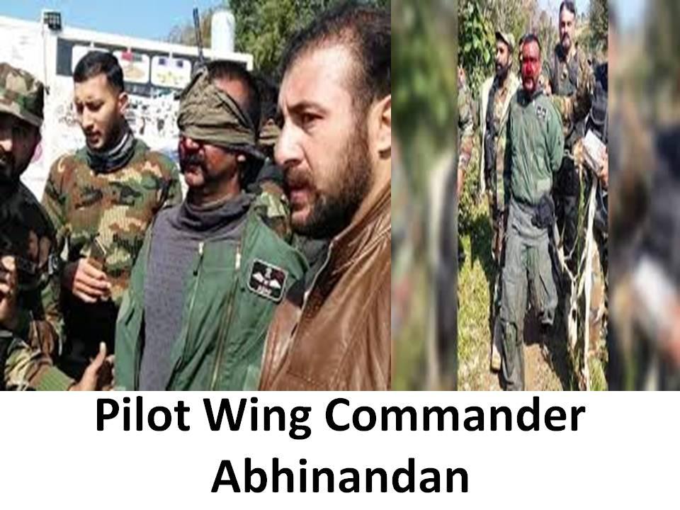 Bharat Pilot Wing Commander Abhinandan in Pakistan custody