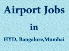 Airport Jobs in HYD, Bangalore, Mumbai