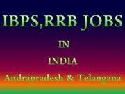 IBPS RRB JOBS IN Andrapradesh Telangana