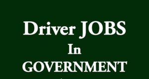 Driver JOBS Central GOVERNMENT India 2019