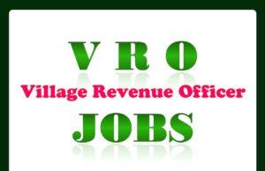 V R O Jobs in AP Village Revenue Officer