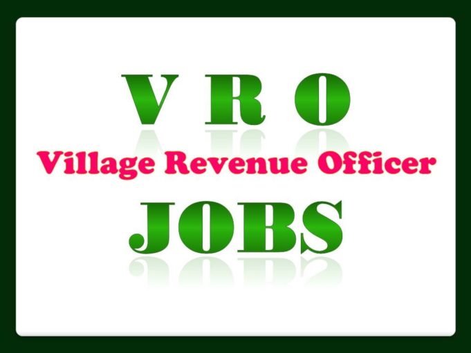 V R O Jobs in AP Village Revenue Officer