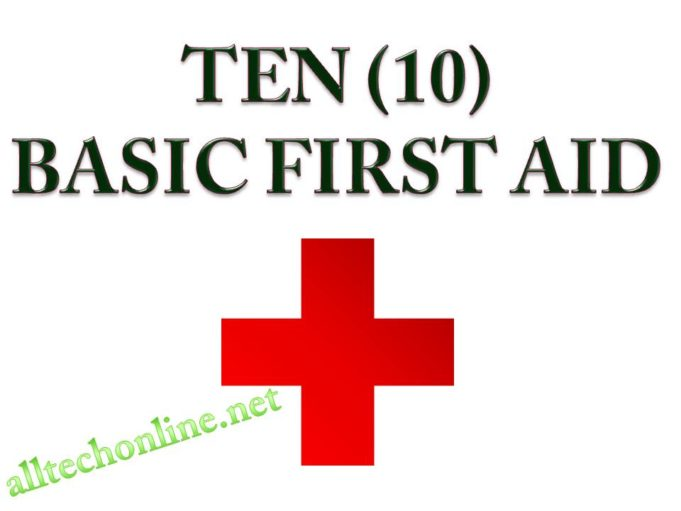 10 Basic First Aid Health Tips Forever