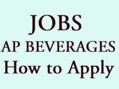 AP BEVERAGES JOBS How to Apply