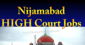 Nijamabad HIGH Court Jobs