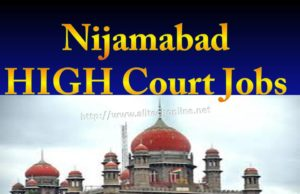 Nijamabad HIGH Court Jobs