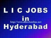 Latest LIC Jobs in Hyderabad