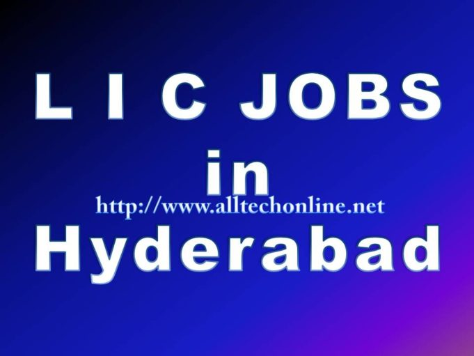 Latest LIC Jobs in Hyderabad