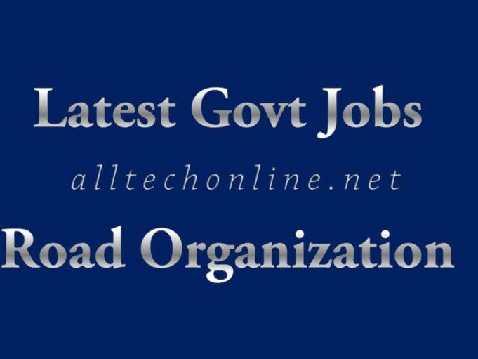 Road Organization Recruitment Notification