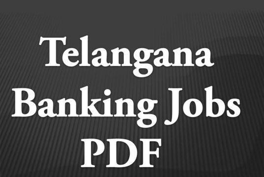 Telangaana Bank Jobs Latest Notification