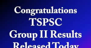 TSPSC Group II Results Released Today Download PDF
