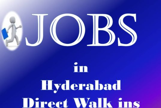 Private Jobs in Telangana Hyderabad