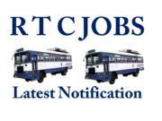 R T C Jobs Latest Notification in Telugu