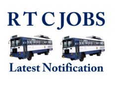 R T C Jobs Latest Notification in Telugu