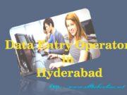 Data entry Operator in Hyderabad