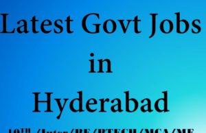 Midhani Latest Govt Jobs in Hyderabad