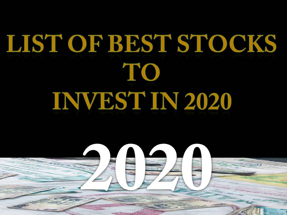 Best Stocks To Invest In 2020 Share Market All Tech Online