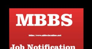 MBBS Latest Job Notification 2020