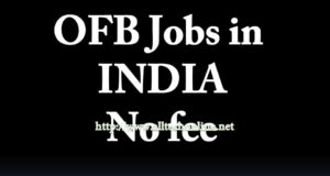 OFB Recruitment in 2020 Telugu