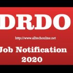 drdoJOBS NOTIFICATION IN TELUGU