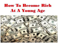 How To Become Rich At A Young Age