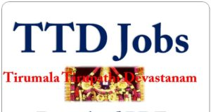 Latest TTD Jobs In Telugu 2020 Download PDF