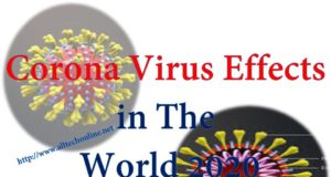 Corona Virus Effects in The World 2020