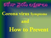 Corona virus Symptoms and How it Attacks