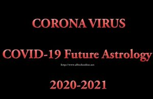 COVID-19 Future Astrology 2020-2021