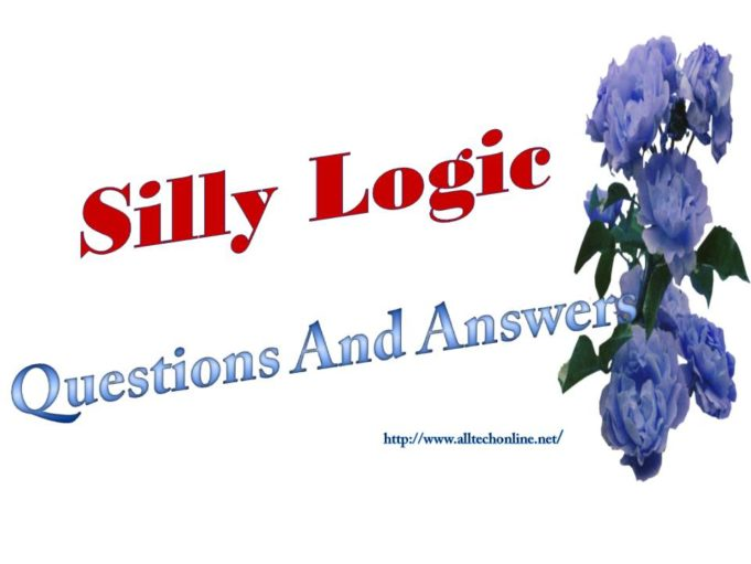 Silly logic Questions Answers 2020