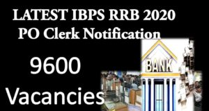 LATEST IBPS RRB 2020 PO Clerk Notification -2020
